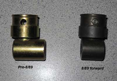 To fit #SR30 to pre 9/89 cars, you will need to use a rod joint from a 9/89 and forward 325 model. BMW Part #25 11 7 503 525.