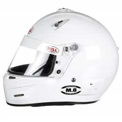 Bell Racer Series Helmet, M.8