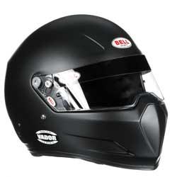 Bell Vador, Racing Helmet with Fighter Pilot Style