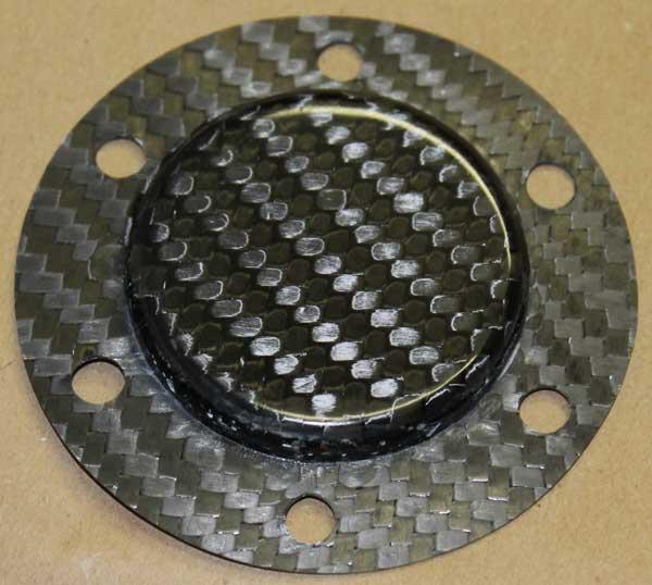 Horn block off plate