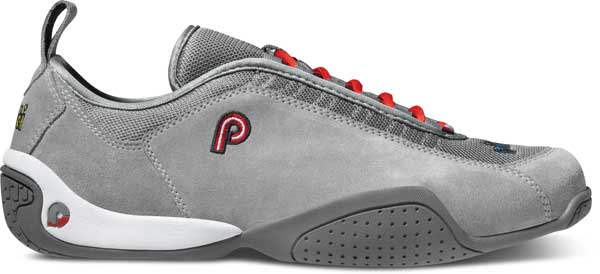Piloti Spyder S1 in Gray Suede