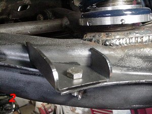 Akg Rear Swaybar Trailing Arm Reinforcement Plate Set For