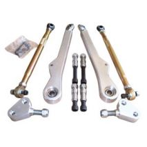 AKG Motorsport Front Control Arm Set, BMW 3 Series, E46 (non M) and Z4 (non M) - Fully Adjustable