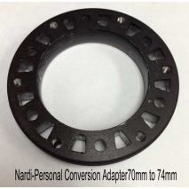 Nardi-Personal Conversion Adapter, Hub to Nardi Steering Wheel - back side
