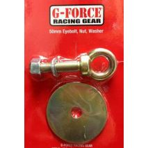G-FORCE Racing Gear 50mm long Eyebolt, Nut & Washer