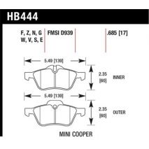 HB444N.685 MINI Cooper Front Brakes