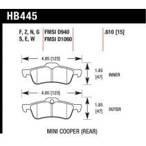 HB445 Hawk Brakes