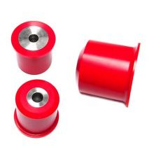 AKG Differential Mount Bushings, BMW 1 Series, E8x (not M), 3 Series, E9x (not M3), Poly 75D with Aluminum Sleeves