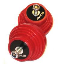 AKG Motor Mounts Set, BMW 3 Series, E36, E46,  Z3 and Z4, Polyurethane 75D