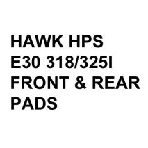 Hawk Performance HPS Brake Pads, BMW E30 318/325 (1984-91)