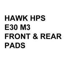 Hawk Performance HPS Brake Pads, BMW E30 M3 (1988-91)