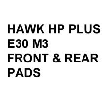 Hawk Performance HP+ Brake Pads, BMW E30 M3 (1988-91)
