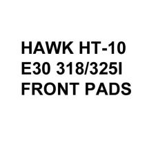 Hawk Performance HT-10 Brake Pads, BMW E30 318/325 (1984-91) [Front Pads]