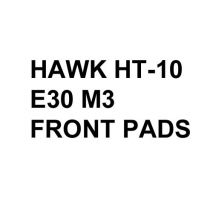 Hawk Performance HT-10 Brake Pads, BMW E30 M3 (1988-91) [Front Pads]