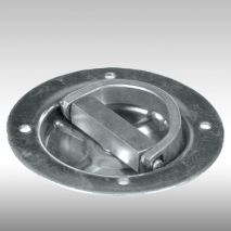 G-FORCE Racing Gear Heavy Duty Recessed Rotating D-Ring