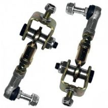 AKG Motorsport Adjustable Rear Sway Bar Stabilizer Link Set, BMW 3 Series, E36, but not 318ti