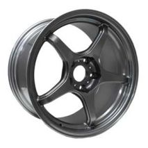 "D-Force Wheels - LTW5 for BMW 3 Series, E30, 15x7"" 4x100 bolt pattern, Anthracite"