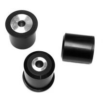 AKG Differential Mount Bushings, BMW 1 Series, E8x 1M, and 3 Series E9x M3, Poly 95A with Aluminum Sleeves