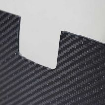 BMW E46 Carbon Fiber/Alumi-core Bulkhead Panel