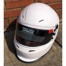 Harrison Motorsports Stealth Duckbill Helmet