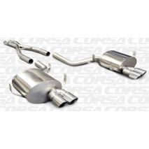 "Corsa BMW 5 Series E39 M5 SPORT 2.5"" Cat-Back Stainless Steel Exhaust, 1998 to 2003 Polished Tips"