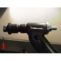 Lubricate factory bushing with silicon spray or WD40.  Install bushing with RTAB tool as in Photo