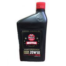 Motul  Classic PEFORMANCE Motor Oil 20W50 1QT