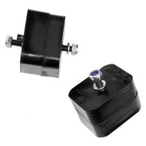 AKG Motorsport Poly Motor Mounts Set, BMW 3 Series, E36 S50/S52/M50/M52 into E30 Swap, Polyurethane 70A
