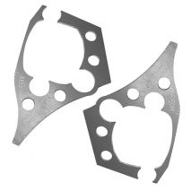 AKG Motorsport Trailing Arm Reinforcement Plates - Precision CNC Cut, for BMW E36, except for 318ti