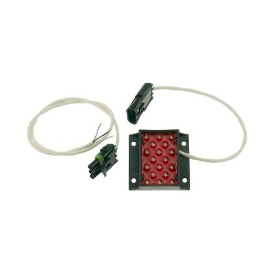 Afterburner FIA Rain/Brake Light with Harness& Weather Pack Connector