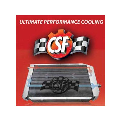 CSF E8X All-Aluminum Radiator, BMW 1 Series, 2008+,  with Manual Transmission