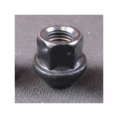 17mm Hex Black Lug Nut, M12-1.5
