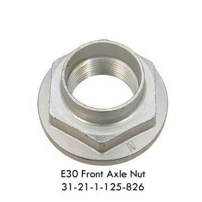 E30 Front Axle Nut