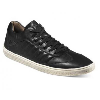 Piloti Pistone Shoe in Black Leather