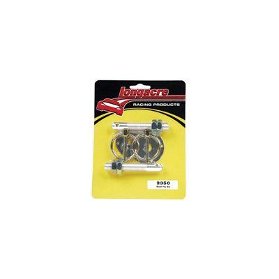 Longacre Aluminum Hood Pin Kit