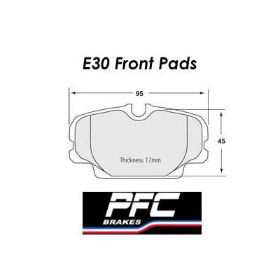 E30 Front PFC 08 Brake Pads 0278.08.17.44 for BMW