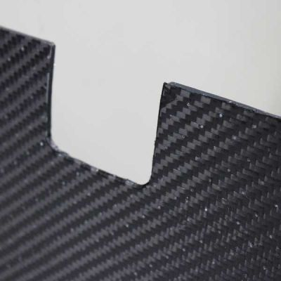 BMW E46 Carbon Fiber/Alumi-core Bulkhead Panel