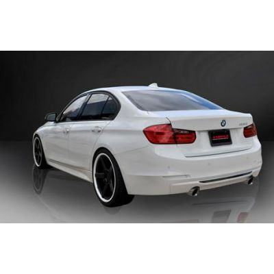 "Corsa BMW 3 Series, F30 335i, Rear Wheel Drive, 3.0"" Axle-Back Stainless Steel TOURING Exhaust, 2012 -2017 Polished Tips"