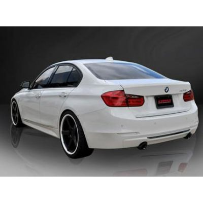 "Corsa BMW 3 Series, F30 335i, Rear Wheel Drive, 3.0"" Axle-Back Stainless Steel TOURING Exhaust, 2012 -2017 Black Tips"