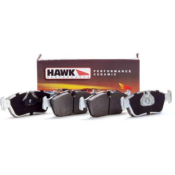 Hawk Street HPS Brake Pads for 01-05 BMW E46 325Ci 325xi Front /& Rear Set