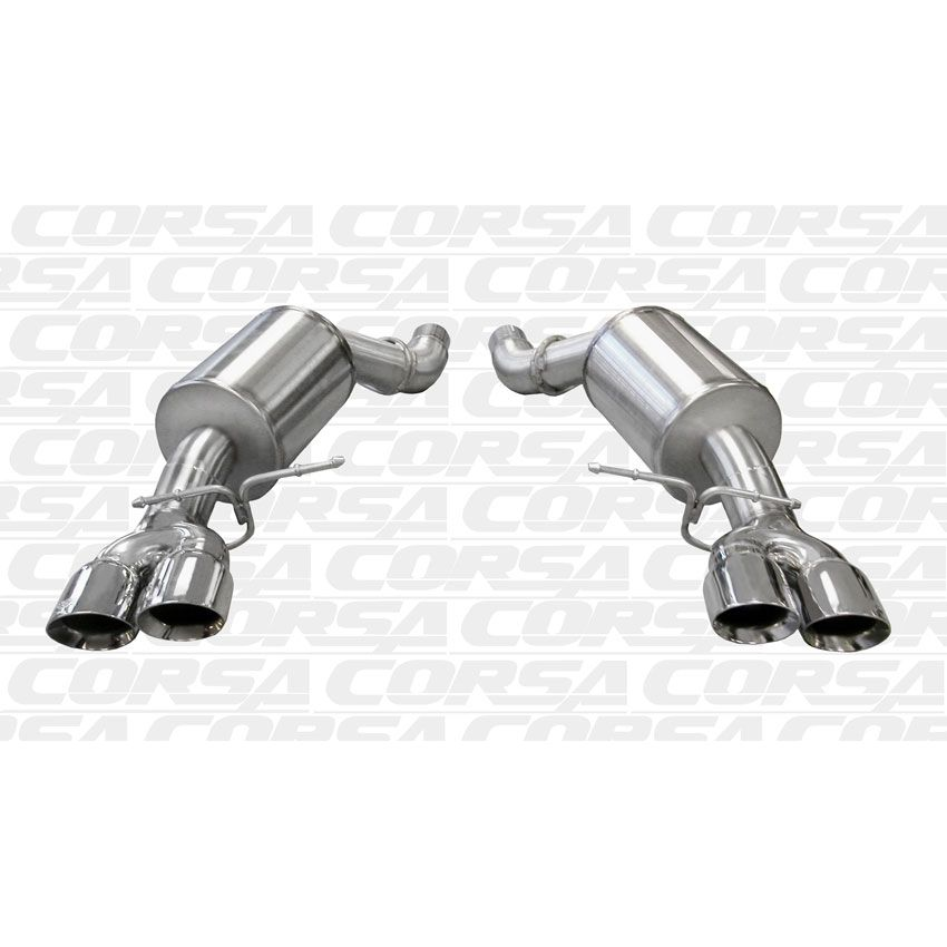 Corsa BMW 5 Series, F10 M5 SPORT Axle-Back Stainless Steel Exhaust, 2012  -2017
